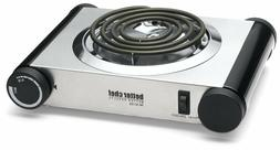 BETTER CHEF 1000W SINGLE ELECTRIC HOT PLATE BURNER COUNTERTO