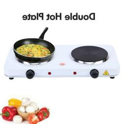 15.5cm Dual Electric Hotplate Portable Hot Plate Burner 2KW