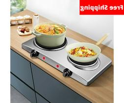 1800W Double Hot Plates Cast Iron hot plates Electric Cookto
