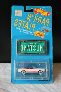 1988 park n plates 1 64 mustang