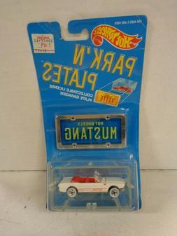1988 Hot Wheels Park'n Plates 1965 Mustang Convertible