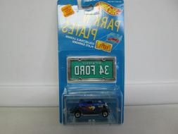 1988 Hot Wheels Park 'N Plates 3-Window 1934 Ford 2225