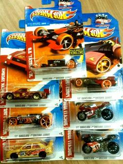 HOT WHEELS 2011 THRILL RACERS COMPLETE SET OF 6  +1 & A LICE