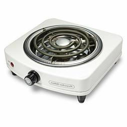 Proctor Silex 34103 Fifth Burner White Kitchen