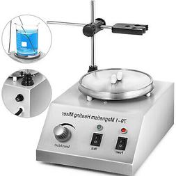 79-1 Hot Plate Magnetic Stirrer Mixer Stirring Lab 1L Dual C
