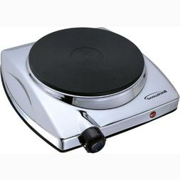 Brand New, Brentwood - Electric 1000W Single Hotplate Chrome