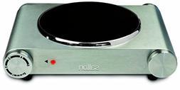 Salton HP1502 Single Burner Infrared Cooking Range, Stainles