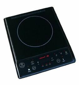 "Spt - 11-7/8"" Modular Electric Induction Cooktop - Black"
