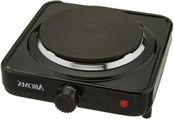 Electric Single Hot Plate Burner 1000 Watt Portable Cooking