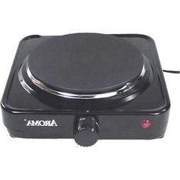 Aroma Housewares AHP-303/CHP-303 Single Hot Plate, Black by