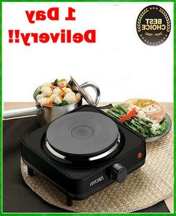 Aroma AHP-303 Single Hot Plate Burner Portable Electric