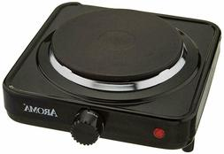 Aroma Housewares AHP-303/CHP-303 Single Hot Plate Black