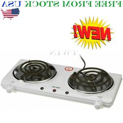 Better Chef Portable Electric Dual 2 Buffet Burner Hot Plate