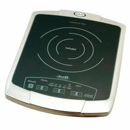Cadco BIR1C Countertop Commercial Induction Cooktop w/  Burn