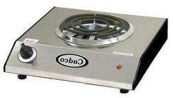CADCO BRC-S1N Single Hot Plate,1100 Watts
