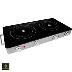 Brentwood BTWTS382 Double Infrared Electric Countertop Burne