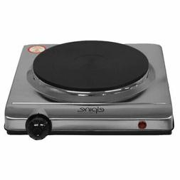 1500w Electric Portable Stainless Steel Hotplate Cooking Hob