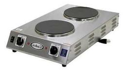 Cadco Cdr-2Cfb Hot Plate,Double,Cast Iron