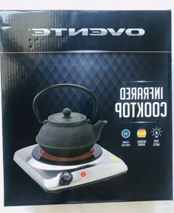Ovente Ceramic Infrared Electric Hot Plate Single Portable C