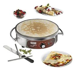 Waring Commercial WSC160X Heavy-Duty Electric Crepe Maker, 1
