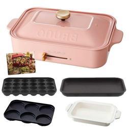 BRUNO Compact Hot Plate Flat & Takoyaki & Pan & Multi Plate