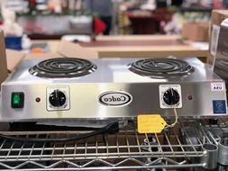 Counter Top Double Plate Burner: Cadco