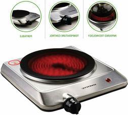 Countertop Electric Infrared Burner Single Hot Plate Portabl