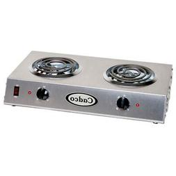 "Countertop Electric Range,  6"" Burners, 1650 Watts"