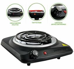 OVENTE Countertop Electric Single Coil Burner, 1000W , 6-Inc