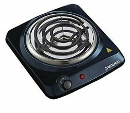 Electric Burner Single Buffet Countertop Hotplate 1000W Port