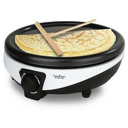 NEW Nutrichef Crepe Maker - Electric Griddle Cooktop PKCYM15