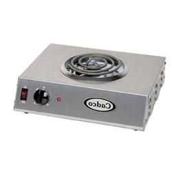 "Cadco CSR-1T Electric Portable 14"" Hot Plate"