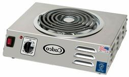 """Cadco CSR-3T Electric Portable Hot Plate with One 8"""" Tubular"""