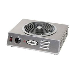 "Cadco CSR-3T Electric Portable Hot Plate with One 8"" Tubular"