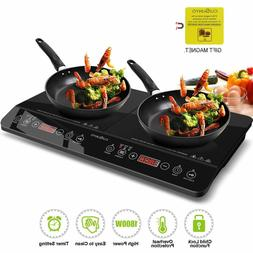Digital Induction Cooktop Double Countertop Burner Hot Plate