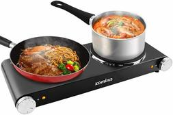 Double Hot Plates, Cast Iron hot plates, Electric Cooktop, H