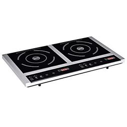 Costway Double Hot Plate, Portable Electric Induction Cooker