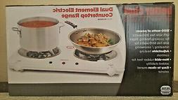 Better Chef Dual Element Electric Countertop Range Model: IM