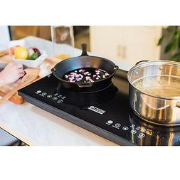 dual induction cooktop counter burner