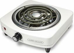Proctor Silex Durable Fifth Burner Adjustable Temperature Co