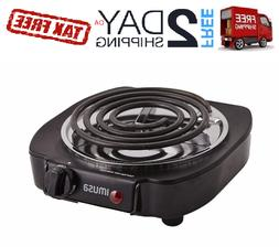 Electric Burner Hot Plate Top Portable Stove One RV Travel C