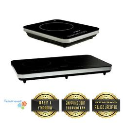 Ovente Electric Cooktop Burner Ceramic Induction Hot Plate w