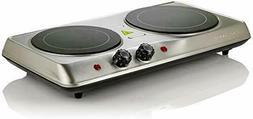 electric cooktop burner infrared ceramic glass hot