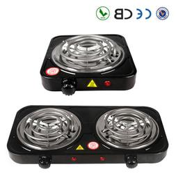 Electric Double / Single Burner Portable Hot Plate Counterto