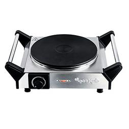 Electric Hot Plate Portable Electric Stove Cast Iron Single