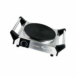 Duxtop Electric Hot Plate Portable Electric Stove, Cast Iron