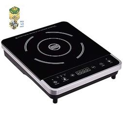 Electric Induction Cooker Single Burner Digital Hot Plate By