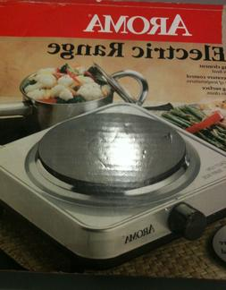 AROMA Electric Range Single Burner Stainless Steel Hot Plate