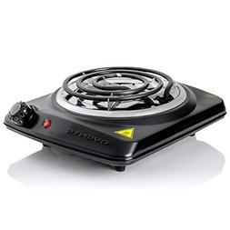 ELECTRIC SINGLE BURNER Portable Hot Plate Stove Countertop T