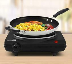 Electric Single Hot Plate Burner 1000 Watt Cooking Stove Com
